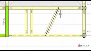 ProtaStructure ile Modelleme - Tali Kirişlerin Tanımlanması