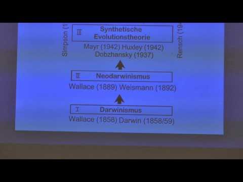 Evolutionstheorien 2014 – Prof. Dr. Ulrich Kutschera, Biologe, Kassel