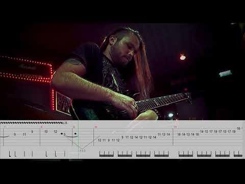 "SIRENIA - ""Into The Night"" Guitar Solo Playthrough | Napalm Records"