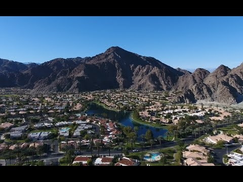 Drone Flying near Palm Springs, California - DJI Phantom 4K