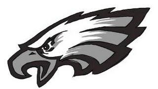 How to draw Philadelphia Eagles logo, NFL team logo