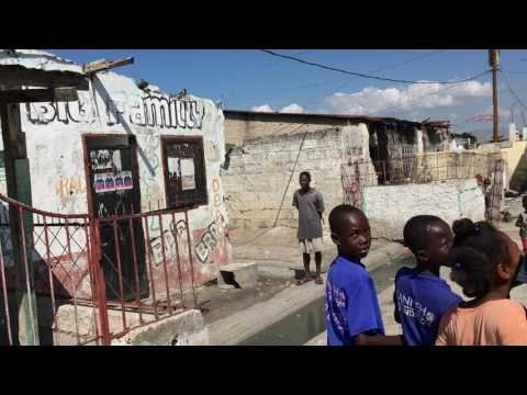 Walk in Cite Soleil Port au Prince Haiti