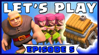 """Clash of Clans """"TOWNHALL LEVEL 5 ATTACK STRATEGY"""" TH5 - Let's Play Walkthrough (#5)"""