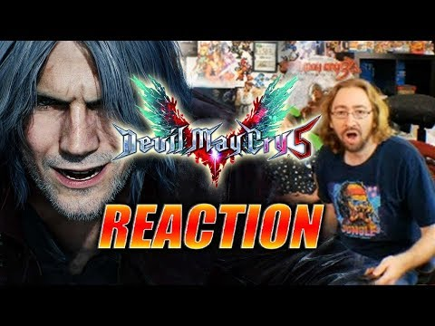 MAX REACTS: Devil May Cry 5 – Reveal Trailer