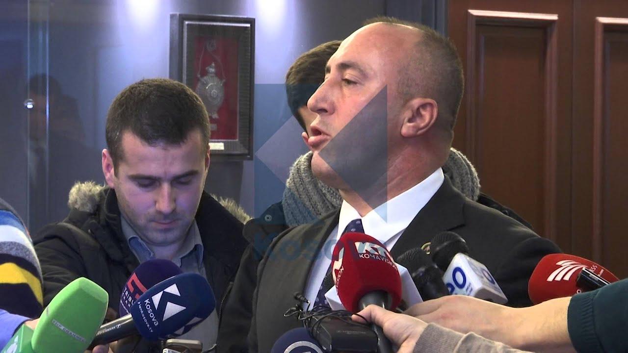 Deklarata e Ramush Haradinajt pas takimit te Presidentja - 08.02.2016 - Klan Kosova