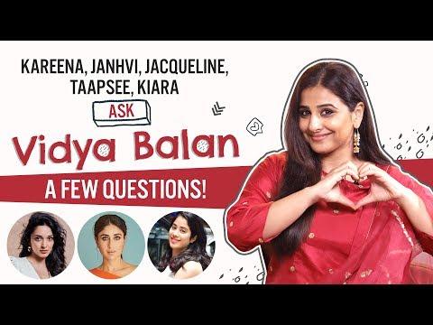 Vidya Balan answers questions from Kareena, Janhvi, Jacqueline, Kiara   Mission Mangal