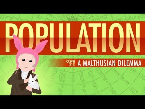 Population, Sustainability, and Malthus: Crash Course World History 215