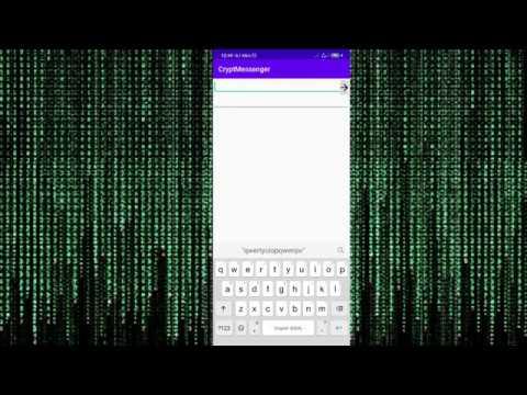 Создание чата на Android с шифрованием сообщений