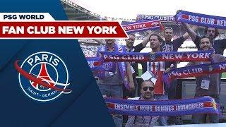 LE FAN CLUB NEW YORK AU PARC DES PRINCES !
