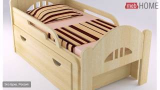 Кровать детская раздвижная Вырастайка №3, 70 см