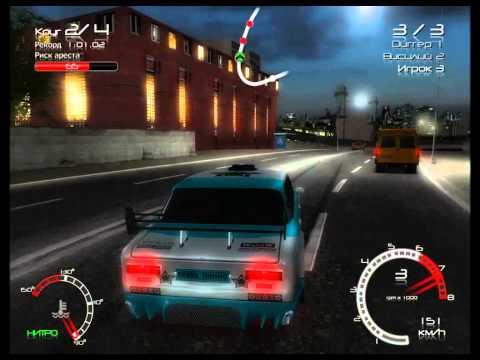 Обзор гонок Russian Street Racing Рейсеры против ГАИ (2010)