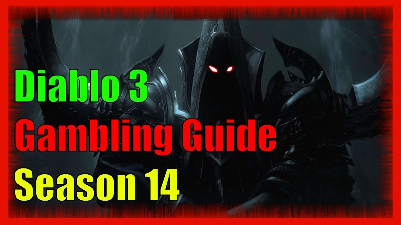 Diablo gambling guide gambling escape game walkthrough