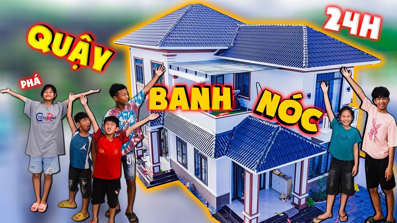 Thái Chuối | Thử Thách 24H Sinh Hoạt Nhà Anh Thái Chuối - Quậy Banh Nóc