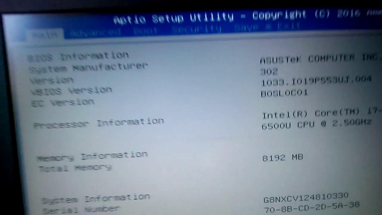 Asus A52Jr Intel Management Drivers for Windows