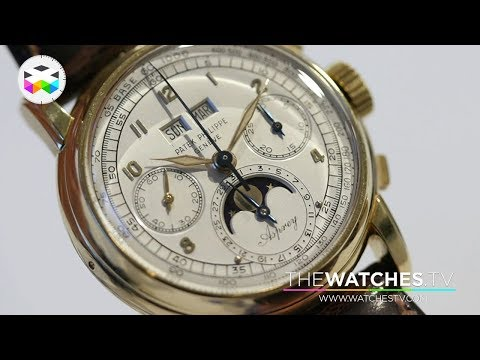 Rolex and Patek Philippe at Sotheby's Geneva Fall Auction
