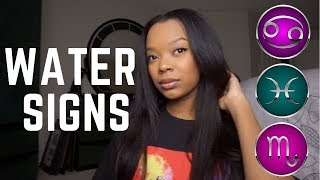 All about Water Signs!! (Scorpio, Cancer, Pisces!) GRWM/UPart Wigh