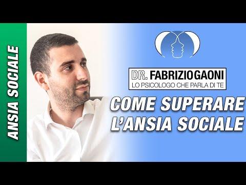 COME SUPERARE L'ANSIA SOCIALE