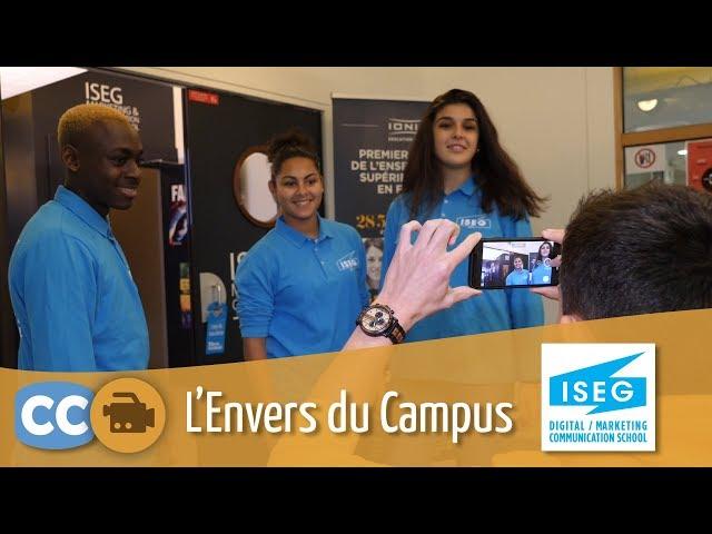 Découvrez l'Envers du Campus de l'ISEG