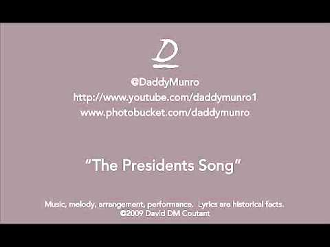 the Presidents song - a mnemonic device