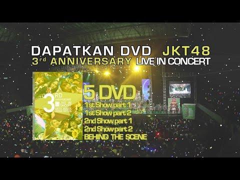 JKT48 - 3rd Anniversary Concert [Official CD Sale]