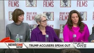 connectYoutube - Trump's Sexual Harassment Accusers Speak Out, Demand A Congressional Investigation
