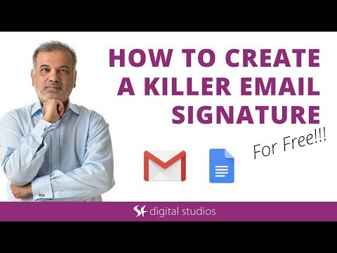 Google email signature generator