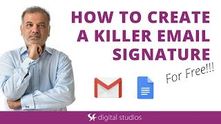 Gmail Tutorial | How To Create A Great Email Signature