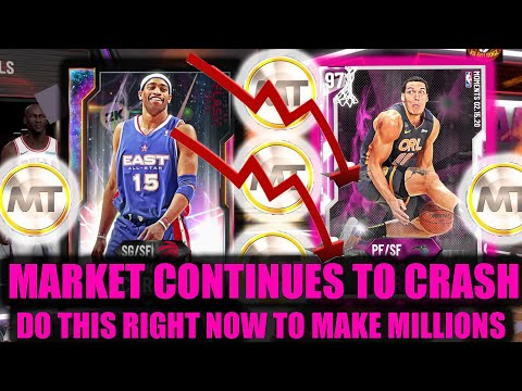 MARKET CONTINUES TO CRASH! INSANE MT METHODS! DO THIS RIGHT NOW! | NBA 2K20 MY TEAM
