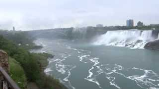 Niagara Falls on USA / Canada Border. Including Maid of the Mist Boat Tour