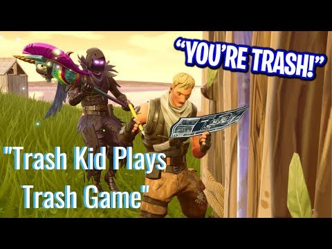 Trash Kid Plays Trash Game