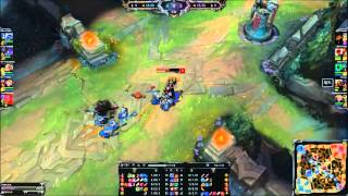 league of legends - Zed failed to kill one minion