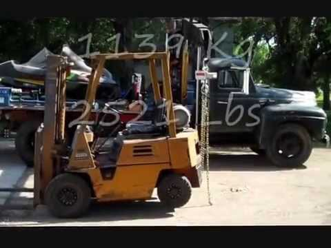 Knuckle boom vs forklift: Part 1