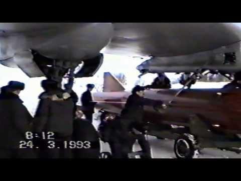 Крайние полеты Ту 16 987 МРАП, Североморск 3, 24 марта 1993