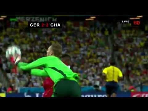 Manuel Neuer FAIL vs. Ghana (2014 FIFA WC Germany - Ghana 2:2) HD