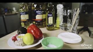 Рецепты Bunge Pro: Салат из маринованных овощей в спринг ролле