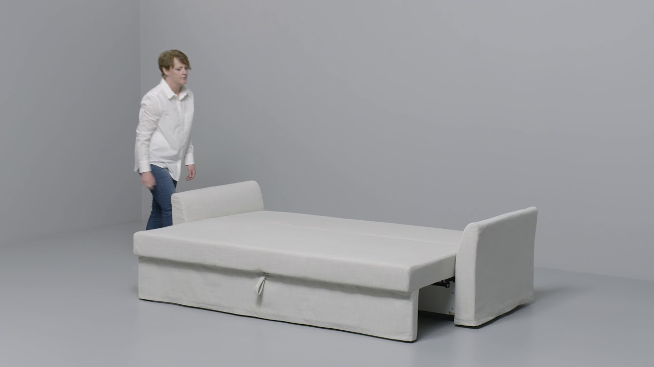 Ikea Sofa Bed Ikea Holmsund Convertible 3 Places