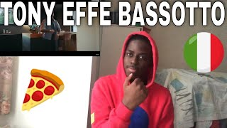 FIRST REACTION TO |Tony Effe - Bassotto|  ( ITALIAN RAPPER)