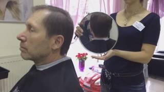 Strzyżenie i tonowanie włosów dla mężczyzn salon Biarritz