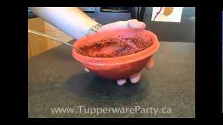 Tapenade Pizza Sauce Made With Tupperware