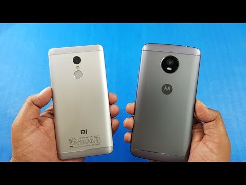 Redmi Note 4 vs Moto E4 Plus Speed Test Comparison | Which Is Fast!!