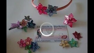 Flores de alambre y esmalte regalo ideal para mama.  Flowers wire and nail polish