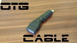 How to make OTG cable fast