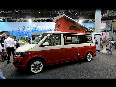 VOLKSWAGEN VW T6 WESTFALIA KEPLER SIXTY ALL NEW CAMPER RETRO DESIGN WALKAROUND + INTERIOR