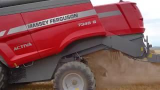 Kombajn Massey Ferguson Activa 7345 S