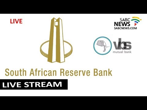 SARB briefs the media on VBS bank
