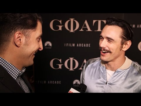 "James Franco at the ""Goat"" NY Premiere Behind The Velvet Rope with Arthur Kade"