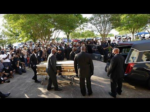 Houston, Texas : le dernier adieu à George Floyd