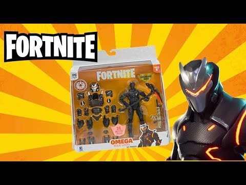 Fortnite Omega Max Level Legendary Series Toy Review / UNBOXING