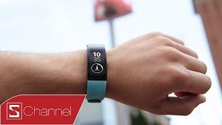 Schannel - Mở hộp Sony Smartband Talk : Thiết kế mới, màn hình E-ink , pin 3 ngày