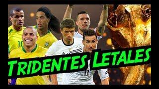 Los Tridentes Más Letales y Goleadores de los Mundiales